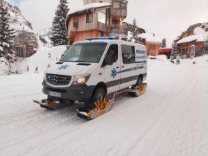 Франция горнолыжный курорт Portes du Soleil Мерседес Спринтер TrackNGo